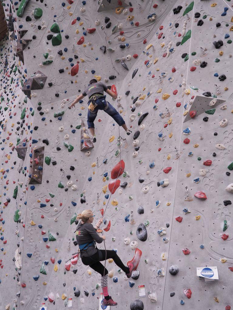 Kletterkurse von climbe