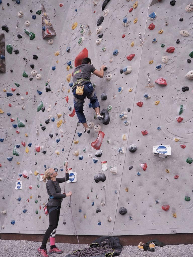 Klettern lernen in München