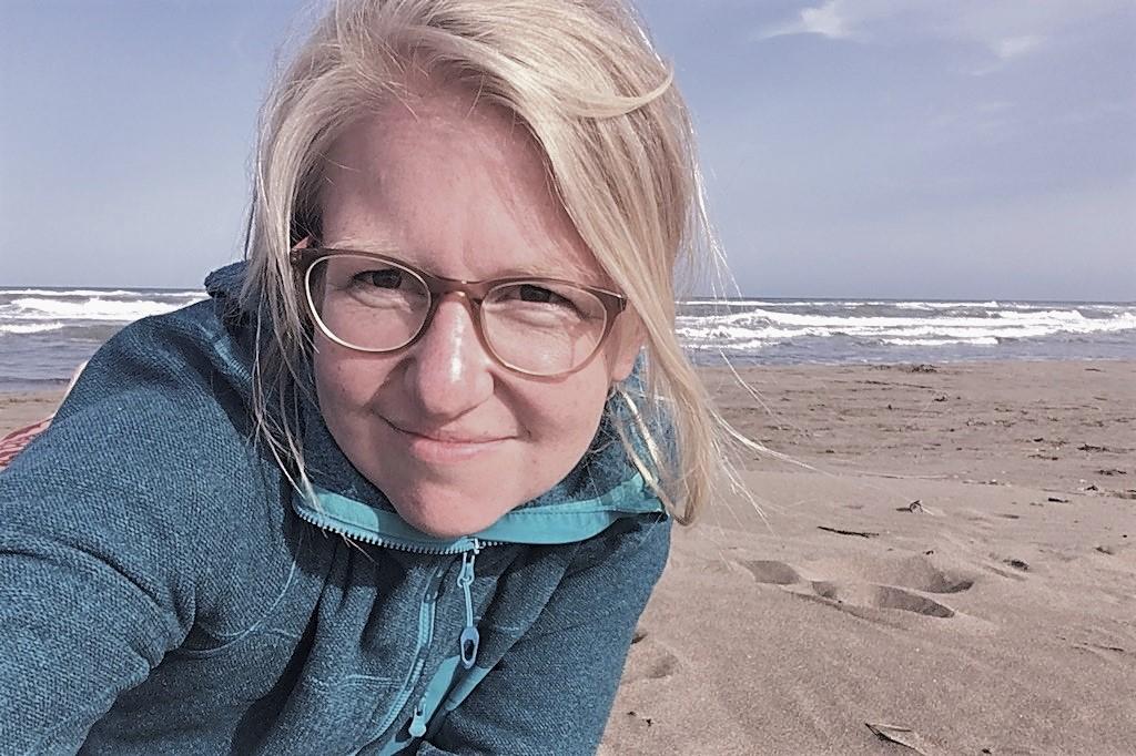 Yogalehrerin Analena Rischpler climbe Kletterschule