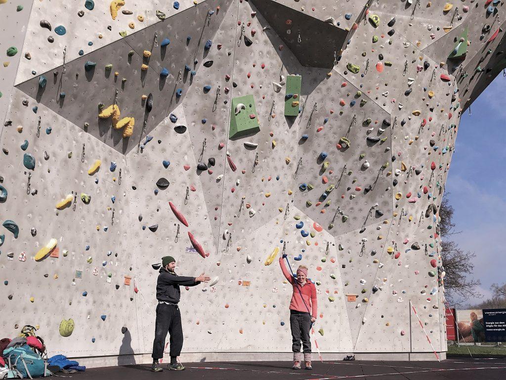 Kletterkurs München bei climBe Kletterschule